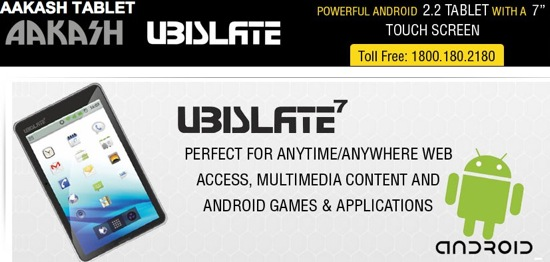 Aakash Tablet | Book Buy | Ubislate7 | Datawind Website India
