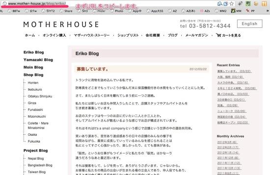 Eriko Blog