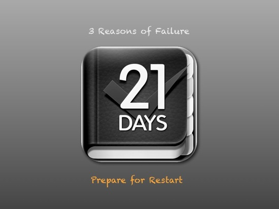 21days 3rd failure