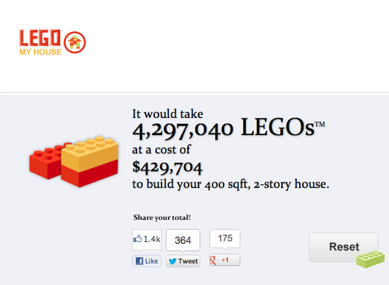 Lego house calculator3