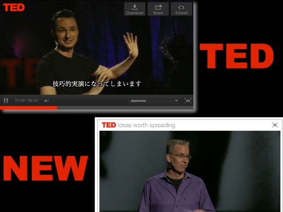 Ted new link