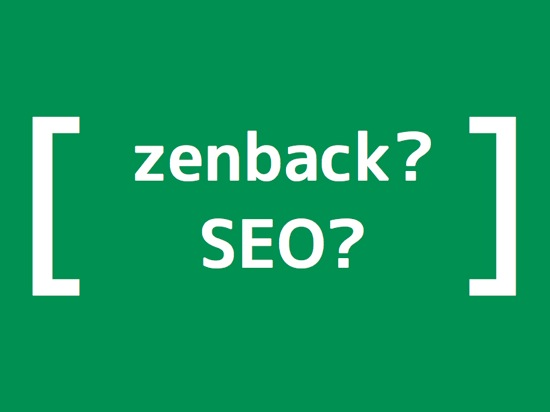 Blog title with bracket effect on seo and zenback