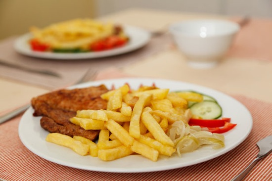 French fries and steak 11291580940VLH