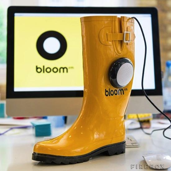 Rain boots speaker02